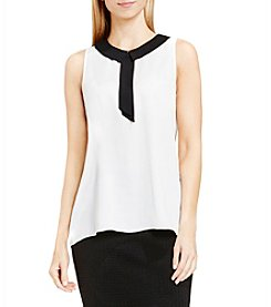 Vince Camuto® Contrast Collar Tank