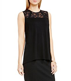 Vince Camuto® Floral Lace Tank