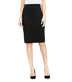 Vince Camuto® Houndstooth Textured Skirt