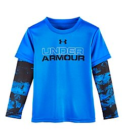 Under Armour® Boys' 4-7 Cracked Layered Tee