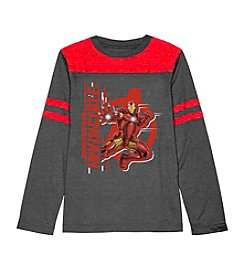 Marvel® Heroes Boys' 8-20 Invincible Iron Man Tee