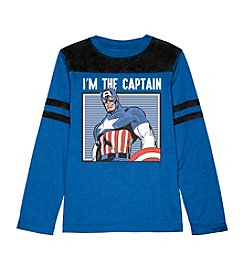 Marvel® Heroes Boys' 8-20 I'm The Captain Tee