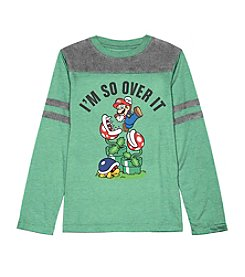 Nintendo® Boys' 8-20 So Over It Tee