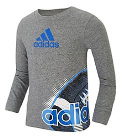 adidas® Boys' 2T-7 Football Wrap Tee