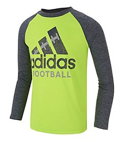 adidas® Boys' 2T-7 Football Raglan Tee