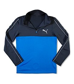 PUMA® Boys' 8-20 1/4-Zip Colorblock Pullover