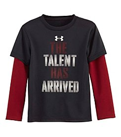 Under Armour® Boys' 2T-7 Talent Has Arrived Layered Tee