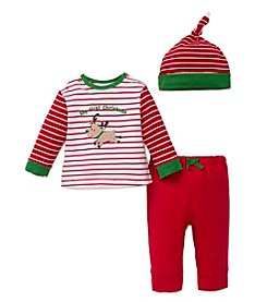 Little Me® Baby Boys' 3-Piece First Christmas Set