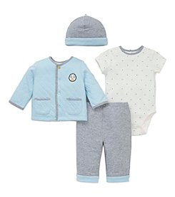 Little Me® Baby Boys' 4-Piece Puppy Star Jacket Set
