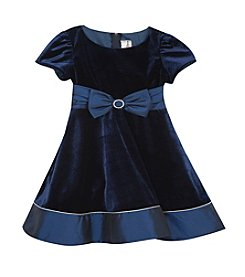 Rare Editions® Baby Girls' Bow Accented Dress
