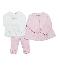 Wendy Bellissimo Baby Girls' 3-Piece Quilted Jacket Set
