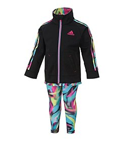 adidas® Baby Girls' 2-Piece Kinetic Jacket Set