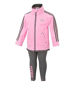 adidas® Baby Girls' 2-Piece Pretty In Pink Set