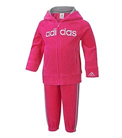 adidas® Baby Girls' 2-Piece Victory Jacket Set