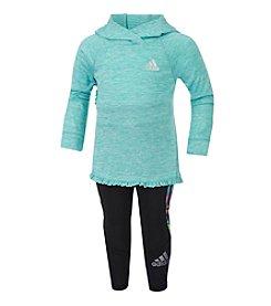 adidas® Baby Girls' 2-Piece Ruffle Hoodie Set