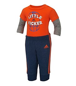 adidas® Baby Boys' 2-Piece Little Kicker Joggers Set