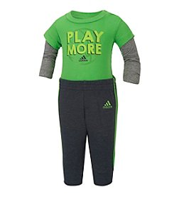 adidas® Baby Boys' 2-Piece Play More Joggers Set