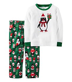 Carter's® Boys' 12M-12 2-Piece Penguin Pajama Set