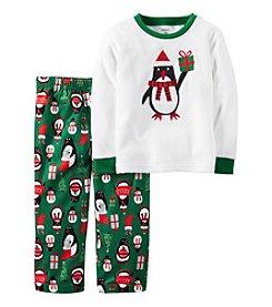 Carter's® Boys' 12M-12 2-Piece Penguin Pajama Set