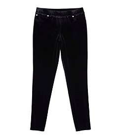 Amy Byer Girls' 7-16 5-Pocket Pull On Pants