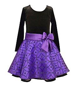Bonnie Jean® Girls' 2T-6X Long Sleeve Embellished Skirt Dress