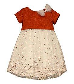 Bonnie Jean® Girls' 4-6X Metallic Dotted Dress
