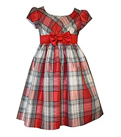 Bonnie Jean® Girls' 2T-6X Belted Plaid Dress