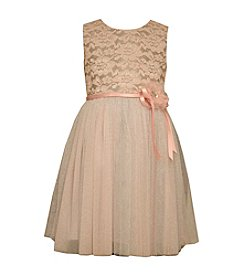 Bonnie Jean® Girls' 2T-16 Bonded Lace Dress