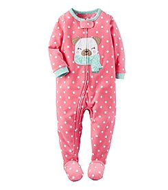 Carter's® Girls' 12M-7 One Piece Pug Sleeper