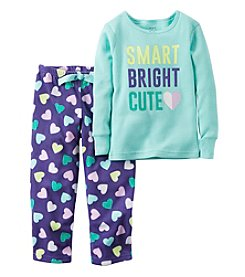 Carter's® Girls' 2-Piece Smart Pajama Set