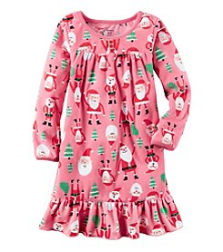Carter's® Girls' 4-14 Allover Santa Nightgown
