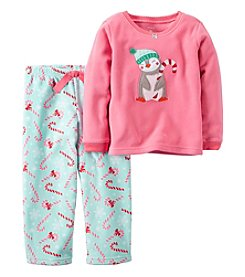 Carter's® Girls' 2-Piece Penguin Pajama Set