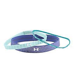 Under Armour® Girls' 3-Pack Shimmer Headbands