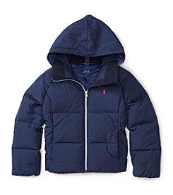 Polo Ralph Lauren® Girls' 2T-6X Hooded Down Jacket