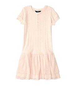 Polo Ralph Lauren® Girls' 2T-6X Dropwaist Tiered Dress