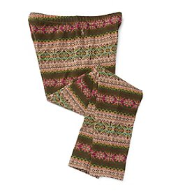 Polo Ralph Lauren® Girls' 2T-6X Fair Isle Leggings