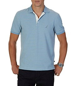 Nautica® Men's Short Sleeve Yard Stripe Polo