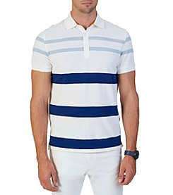 Nautica® Men's Short Sleeve Stripe Polo