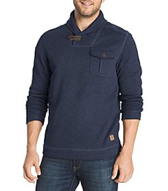 G.H. Bass & Co. Men's Shawl Collar Fleece Sweater