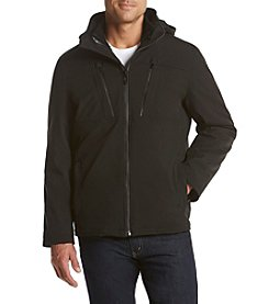 Calvin Klein Men's Big & Tall Soft Shell 3-In-1 System Jacket