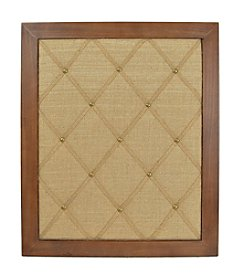 Sheffield Home® Natural Tone Memo Pin Board