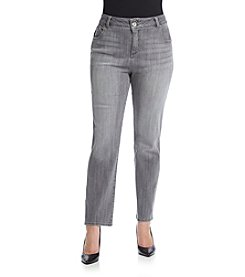 Lucky Brand® Plus Size Emma Straight Leg Jeans
