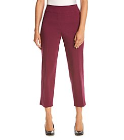 Alfred Dunner® Petites' Veneto Valley Slim Pants