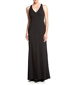 Vera Wang® Matte Jersey Maxi Dress