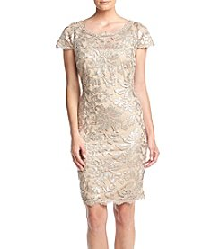 Calvin Klein Embroidered Lace Dress