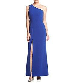 Calvin Klein Crepe Long Gown