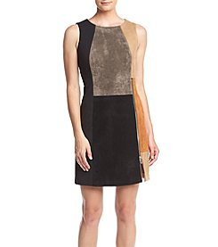 Ivanka Trump® Colorblock Ponte Sheath Dress
