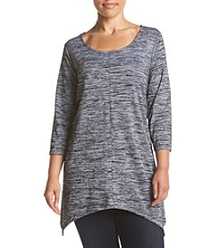 Cupio Plus Size Scoop Neck Tunic