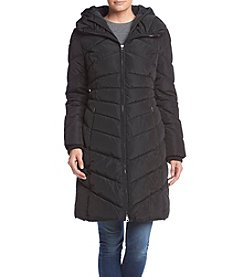 Jessica Simpson Hooded Puffer Coat With Oversized Collar And Hood
