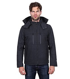Tahari Waterproof Wool Hipster Jacket